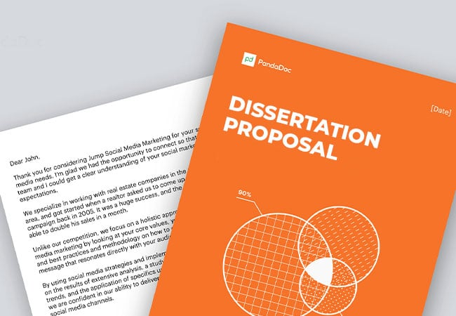 how to structure dissertation proposal