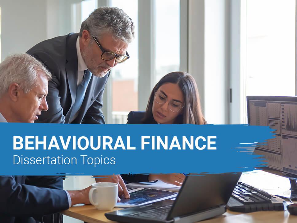 behavioural-finance-dissertation-topics