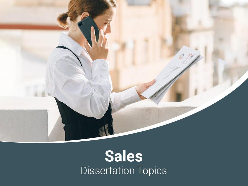 sales-dissertation-topics