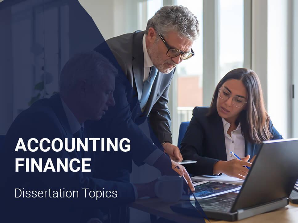 accounting-finance-dissertation-topics
