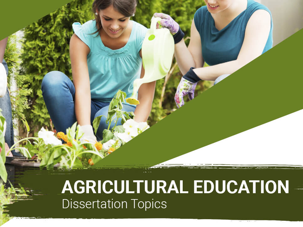 agricultural-education-dissertation-topics