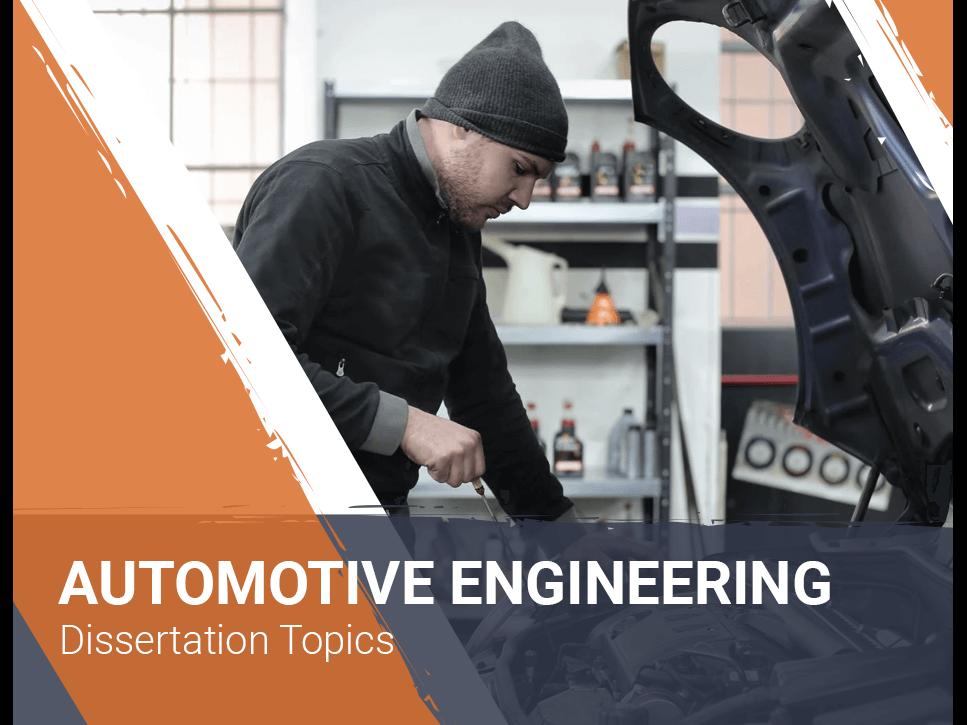 automotive-engineering-dissertation-topics