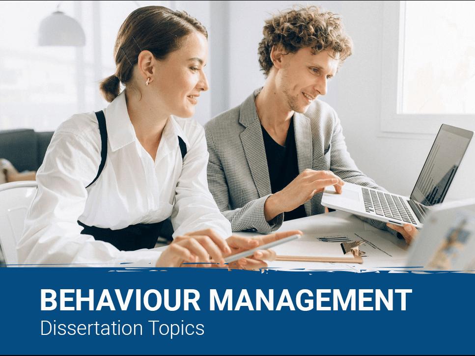 behaviour-management-dissertation-topics