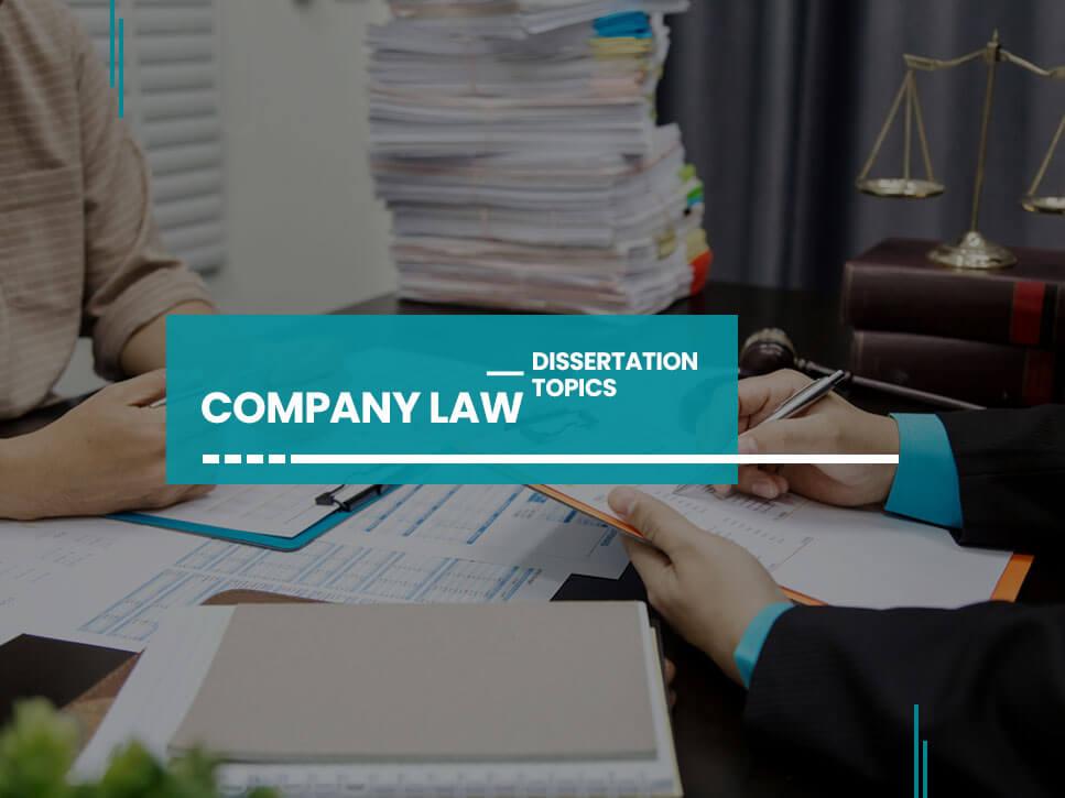 company-law-dissertation-topics