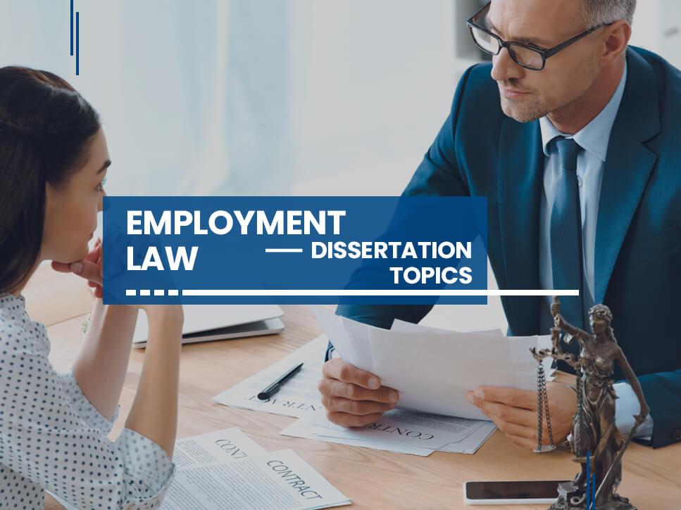 employment-law-dissertation-topics