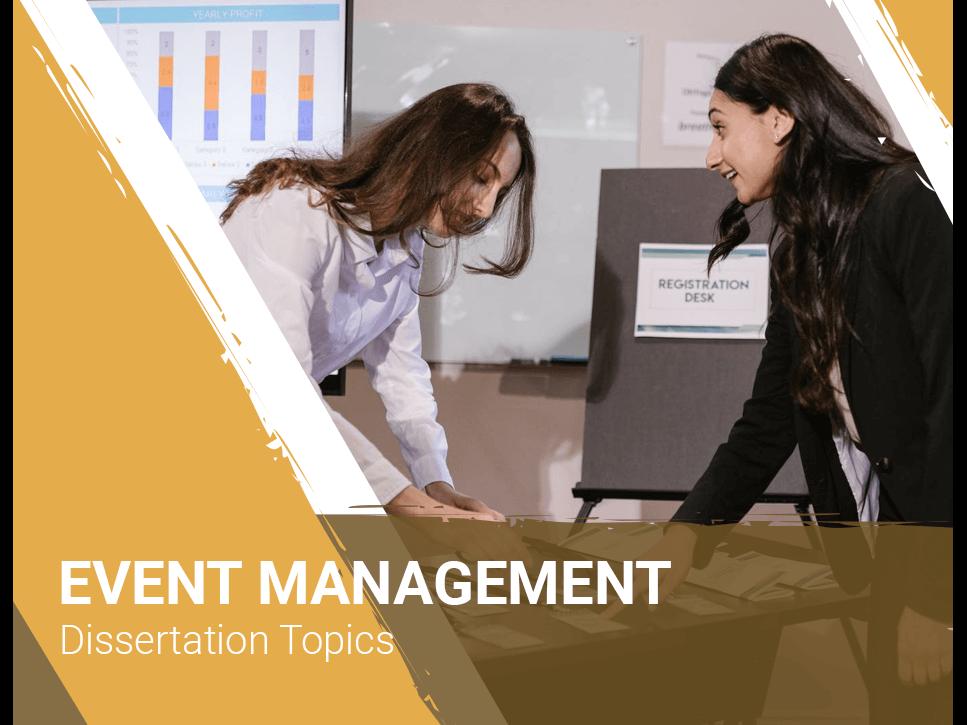 event-management-dissertation-topics