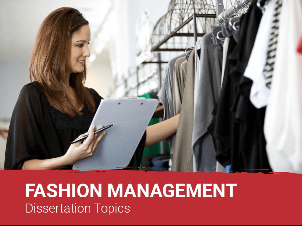 fashion-management-dissertation-topics