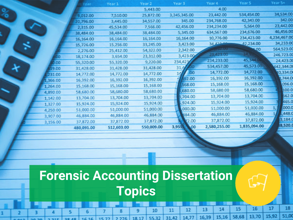 forensic accounting dissertation topics