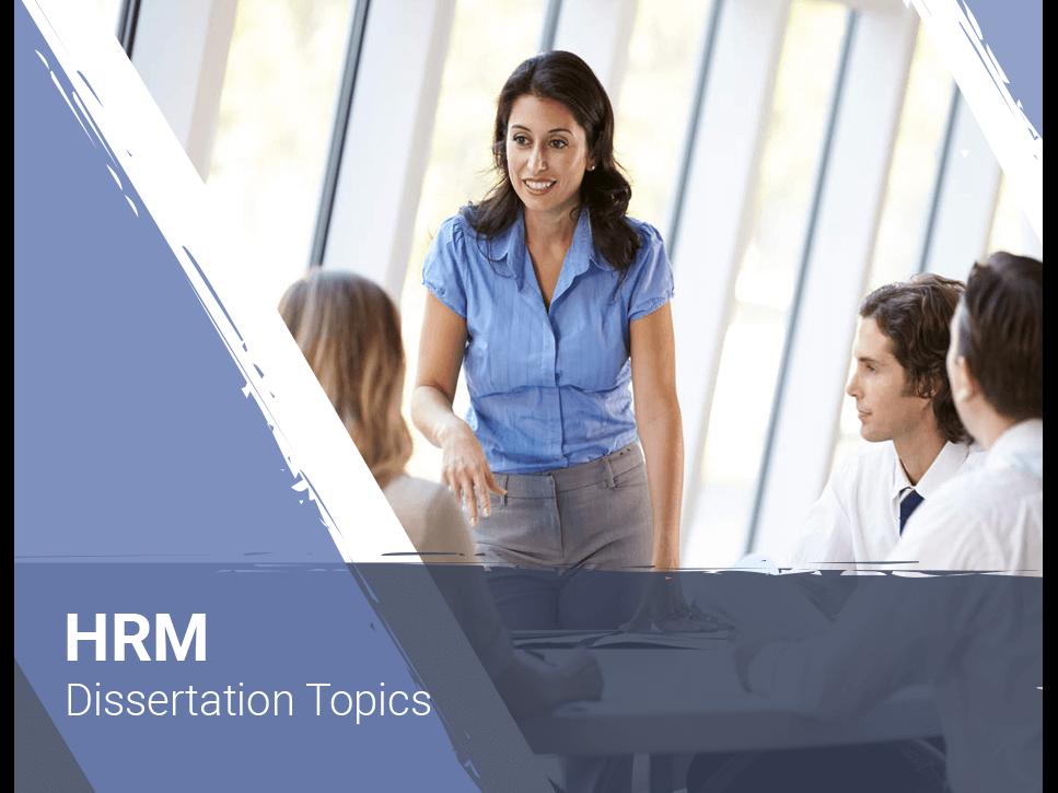 hrm-dissertation-topics