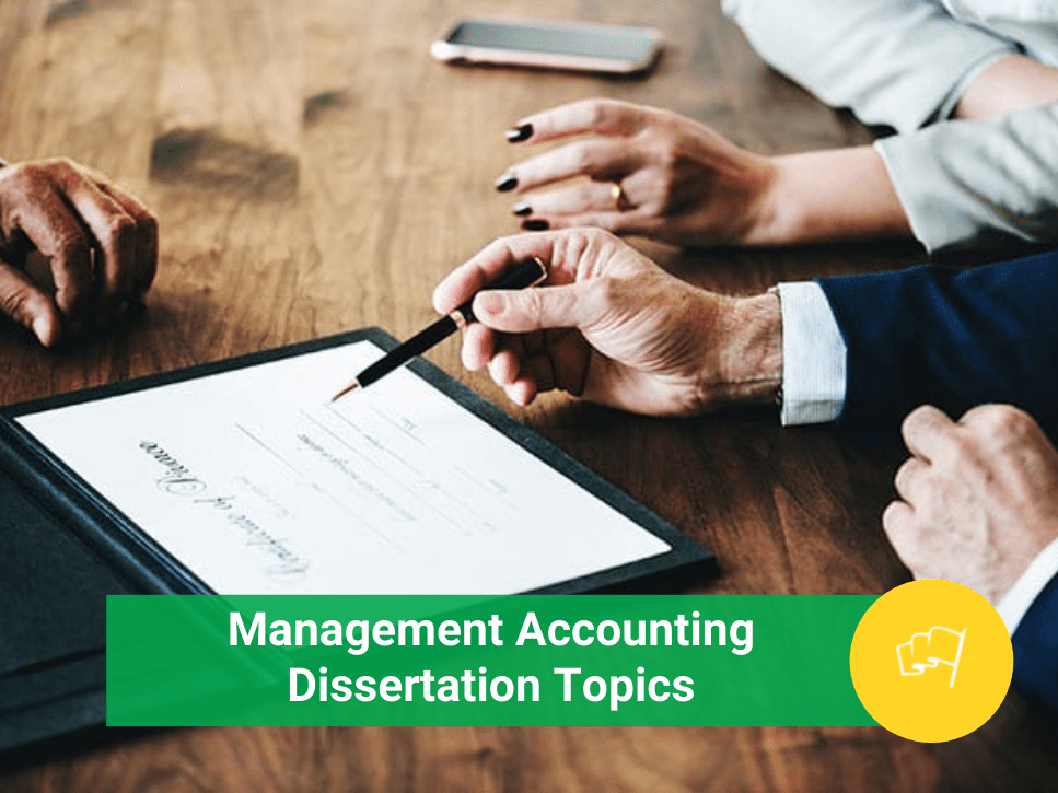 management accounting dissertation topics