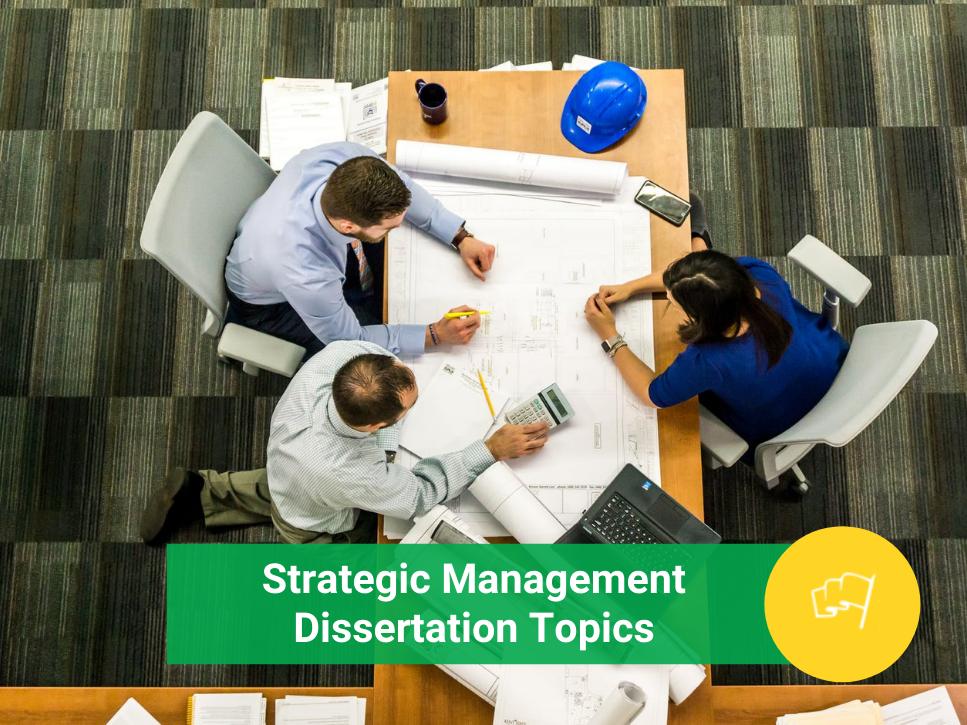 strategic management dissertation topics
