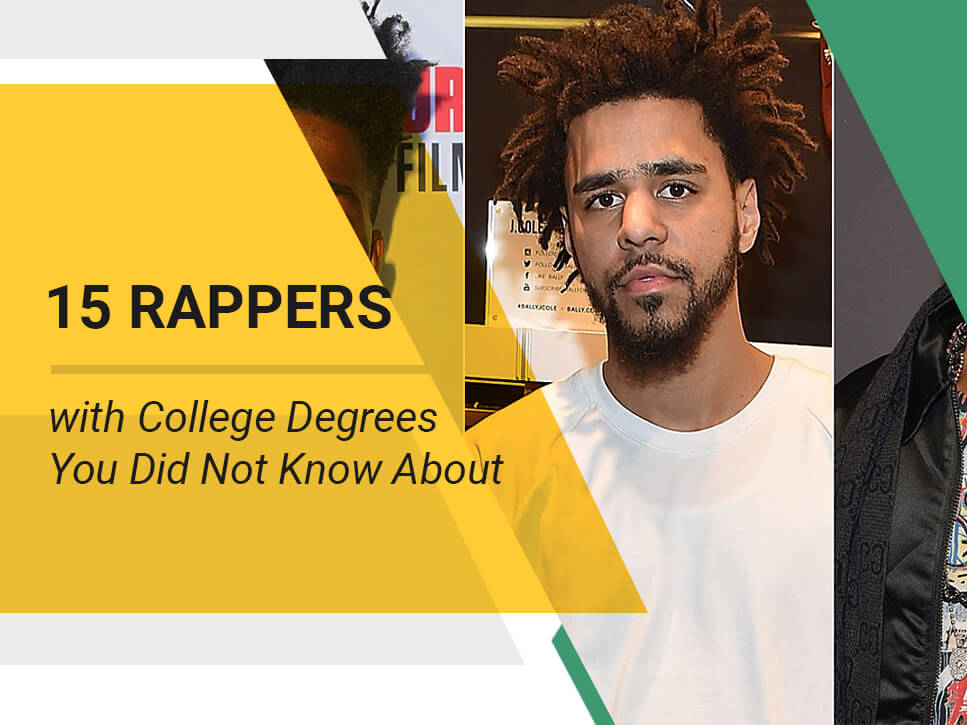 15 Rappers with College Degrees You Did Not Know About
