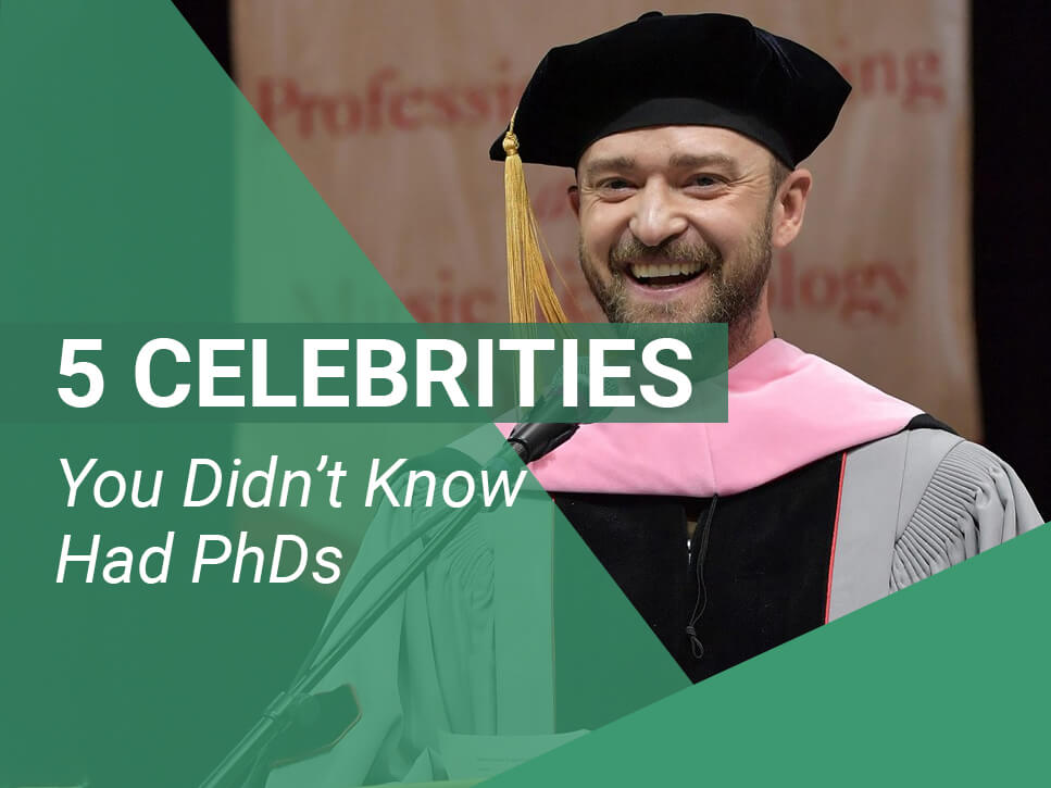 5 Celebrities You Didn't Know Had PhDs