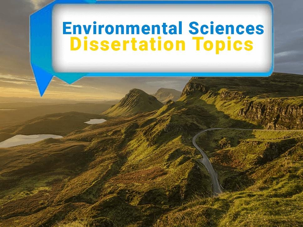 environmental-sciences-dissertation-topics