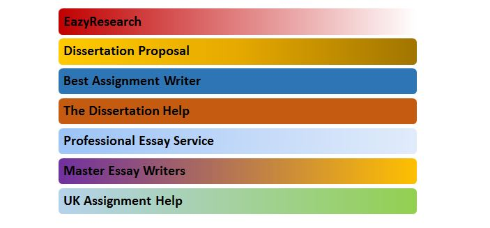 list of best assignment writing service